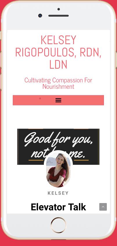 Kelsey's Nutrition Newsletter